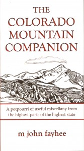 Cover photo of Colorado Mountain Companion