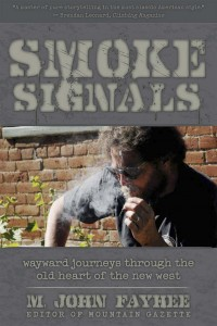 Cover photography of Smoke Signals book