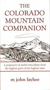 Cover photo of Colorado Mountain Companion