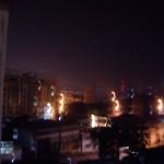 Douala at night