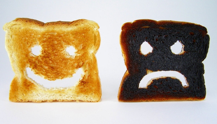 Burned by Toast